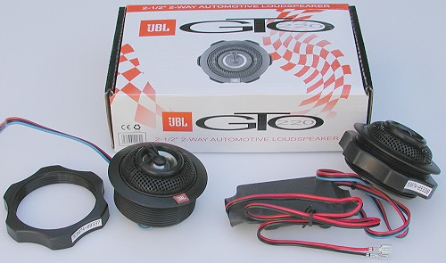 JBL GTO220 2.5 inch 2-way automotive loudspeaker